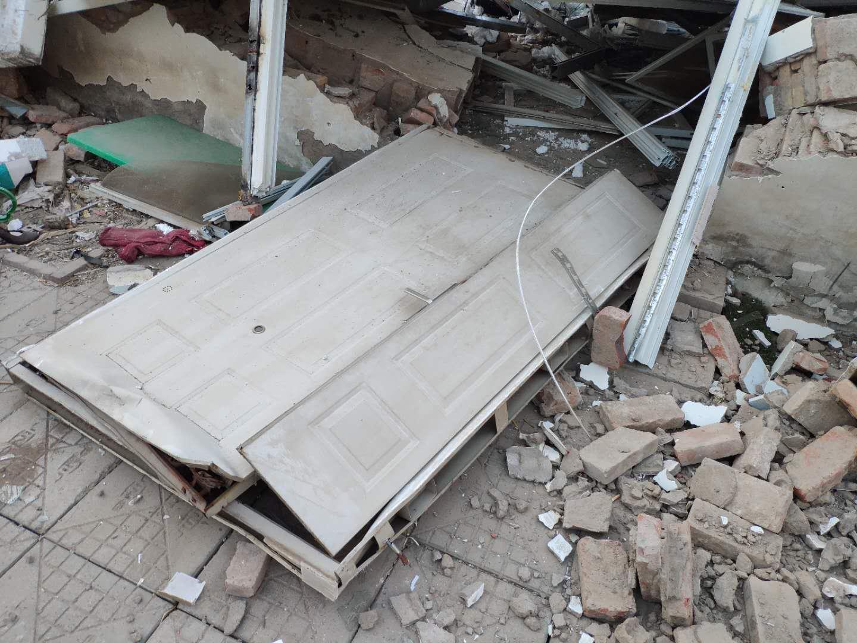 北京昌平區陽坊鎮四家莊村村民張先生的養雞場在沒有任何告知的情況下強拆,張先生各級信訪無果。(受訪者提供)