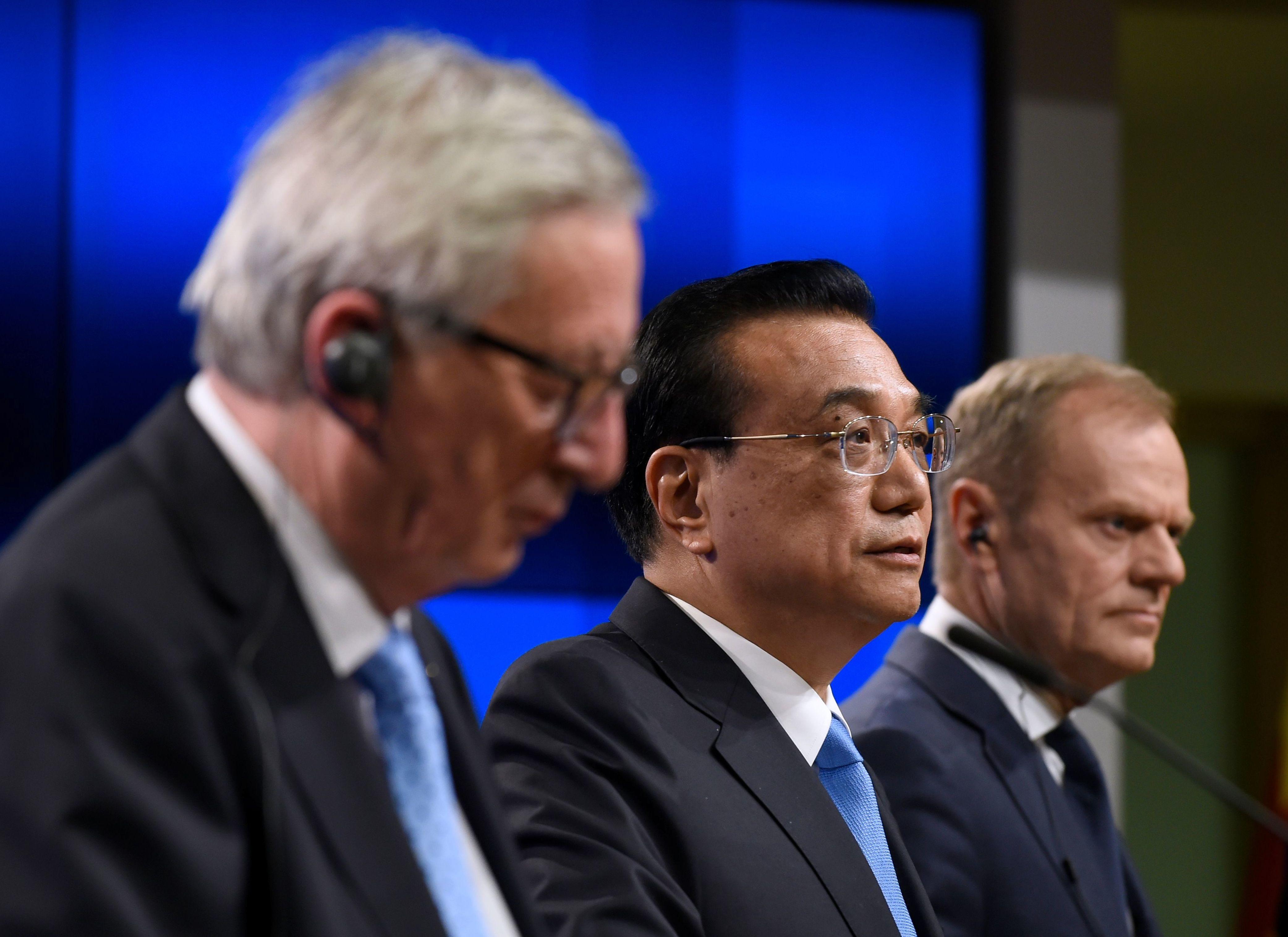 中歐聯合聲明強調監督和執行 歐盟對華轉強