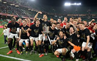 西班牙國王盃 瓦倫西亞2比1戰勝巴薩奪冠