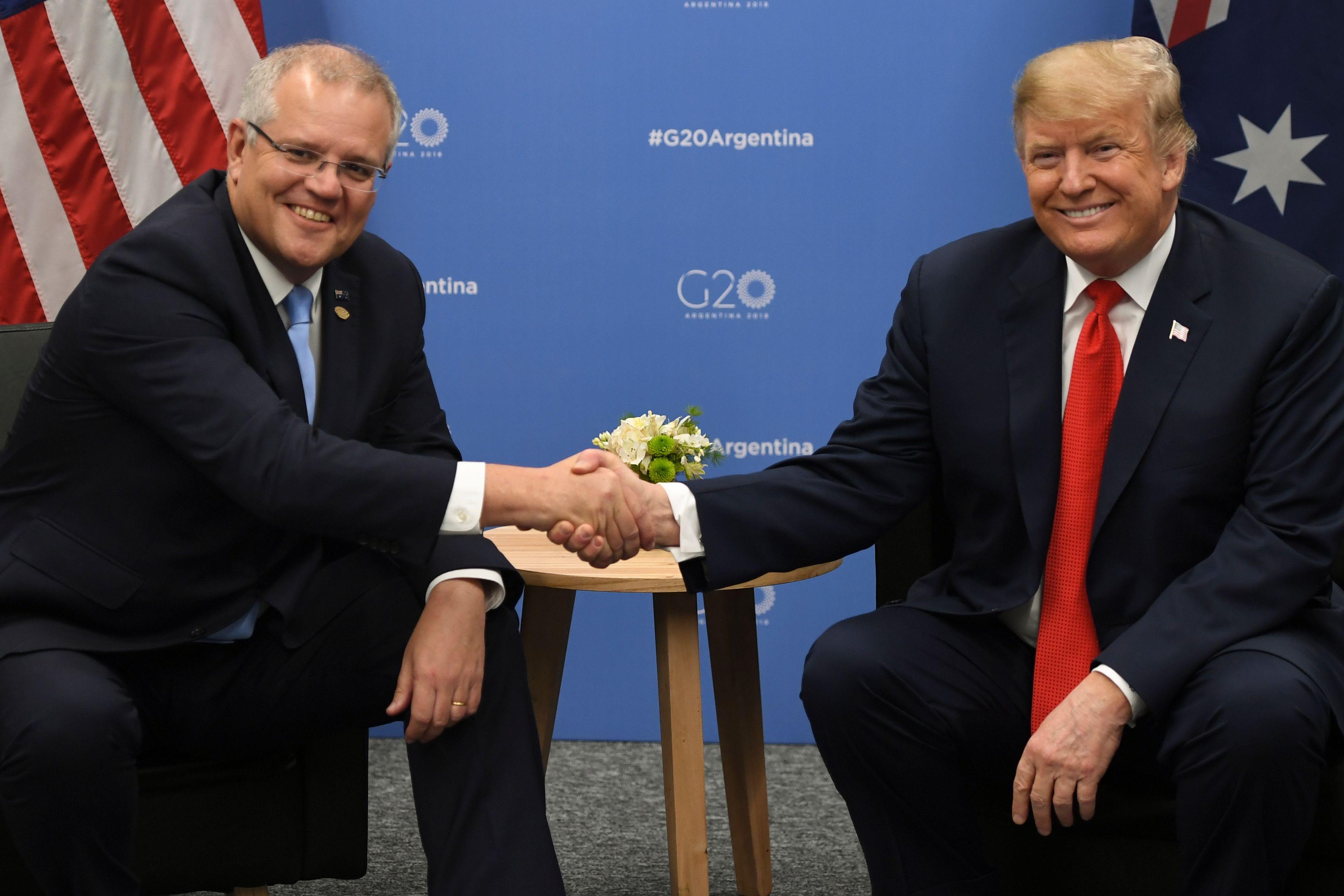 澳洲總理莫里森跟美國總統特朗普有多像?
