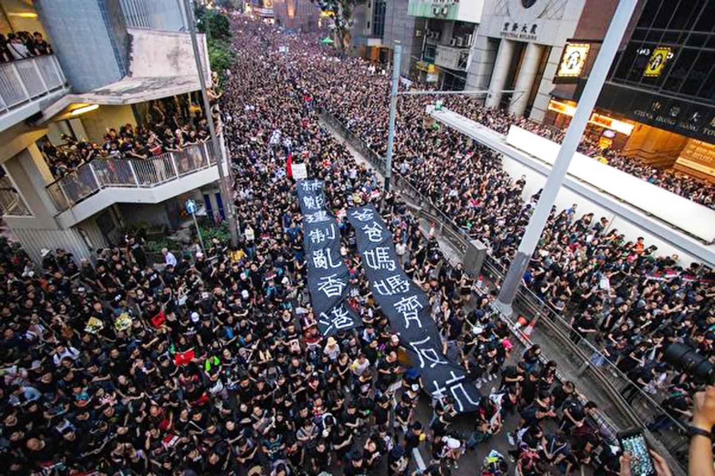 港人連爆抗議活動 傳北京吃驚未獲情報