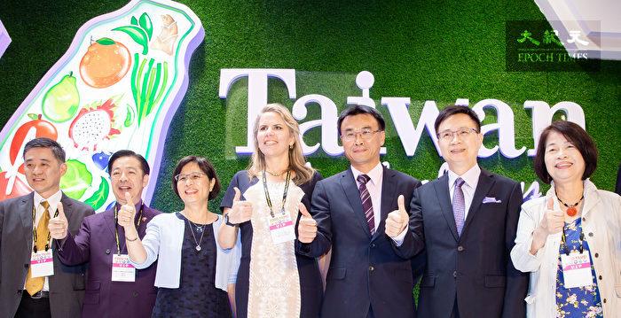 台北國際食品展 陳吉仲:衝刺農產外銷