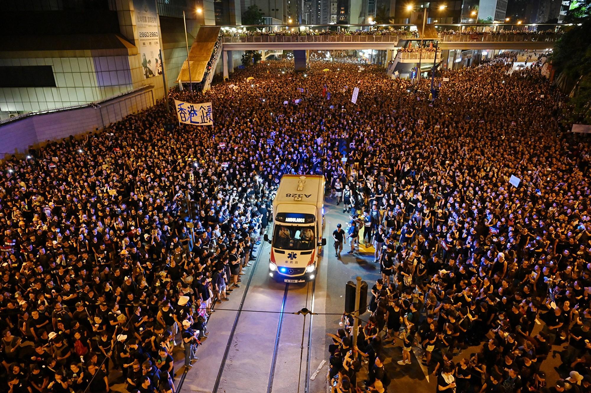 外媒:中國人是否想要自由 看看香港便知