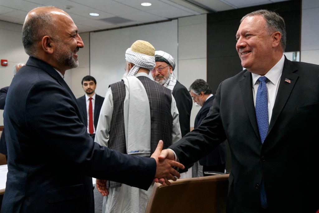 蓬佩奧突訪阿富汗 望9月前達和平協議