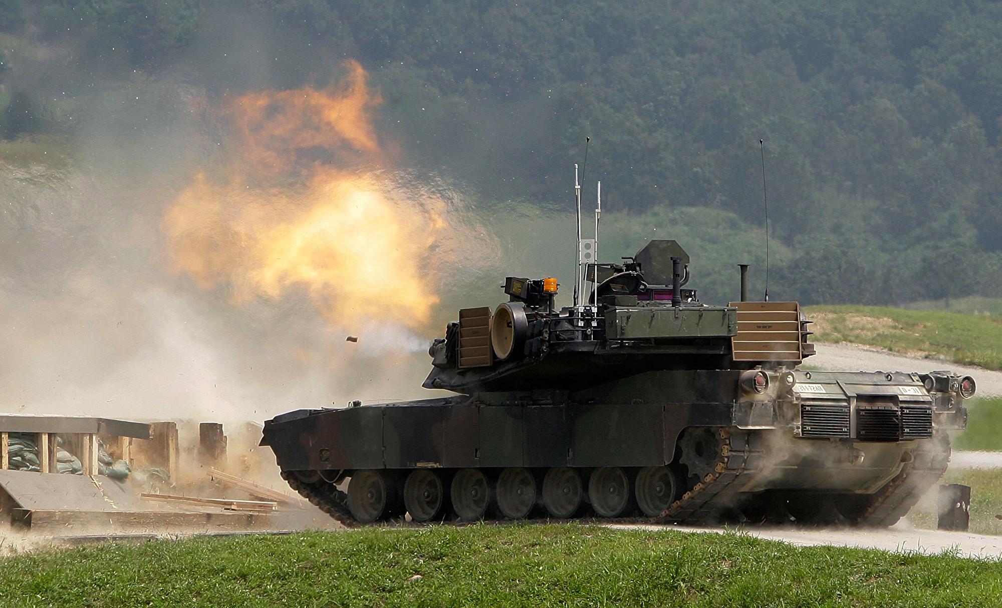 傳美擬大手筆出售坦克給台灣 價值20億