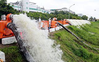 防洪水 南市購72台大型移動式抽水機