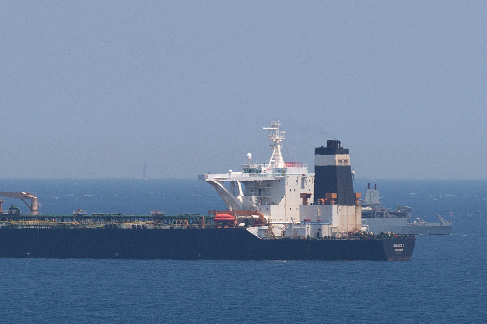 向敘利亞運原油違反制裁 伊朗油輪被英扣押
