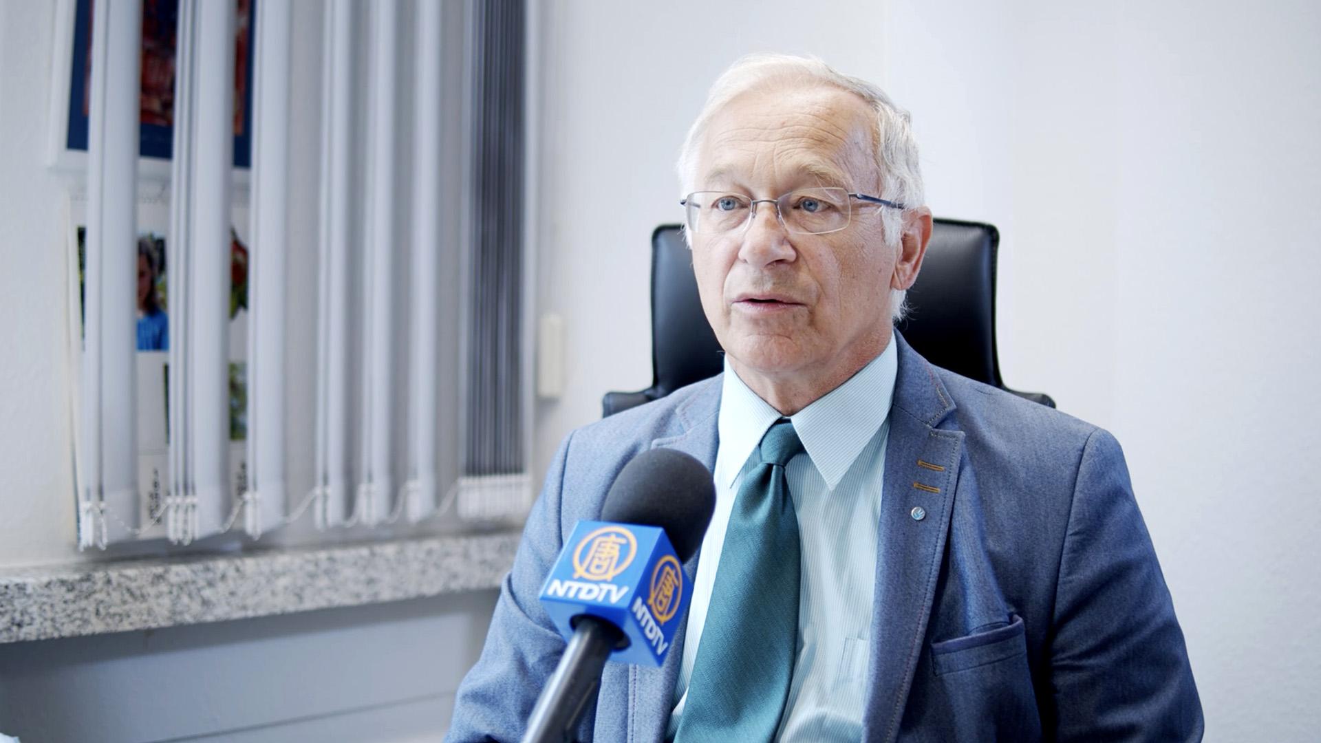 專訪德議員:支持法輪功反迫害 修改器官移植法