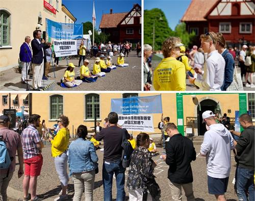 參與迫害法輪功 中共駐瑞典大使被舉報到美國