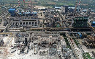 7月19日,河南三门峡义马市气化厂发生爆炸事故。 (AFP / Getty Images)