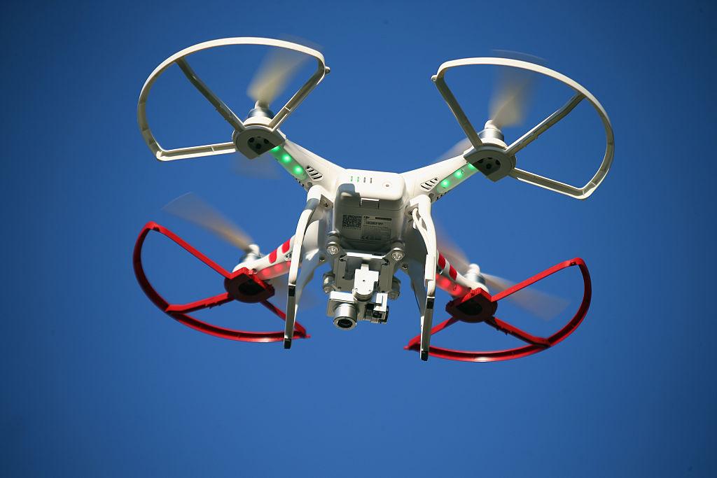 圖為無人機示意圖。(Bruce Bennett/Getty Images)