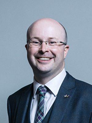 英國議員帕特里克·格拉迪(Patrick Grady)。(議員Patrick Grady官網)
