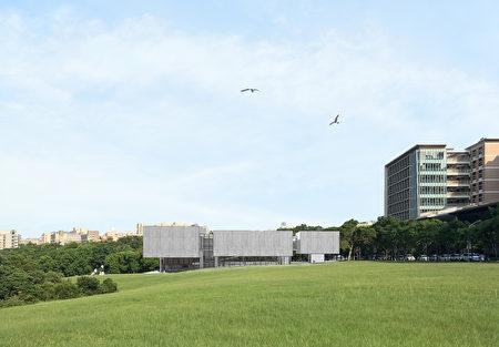 现代美术馆模拟图。