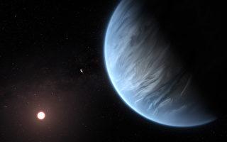 首度發現 適居太陽系外行星大氣中有水存在