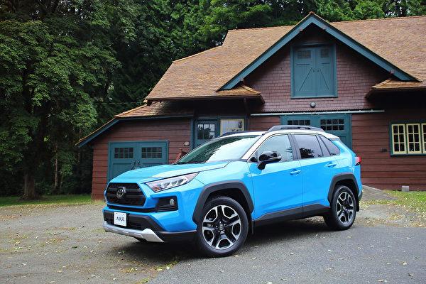 车评:家庭越野车 2019 Toyota RAV4 Trail AWD