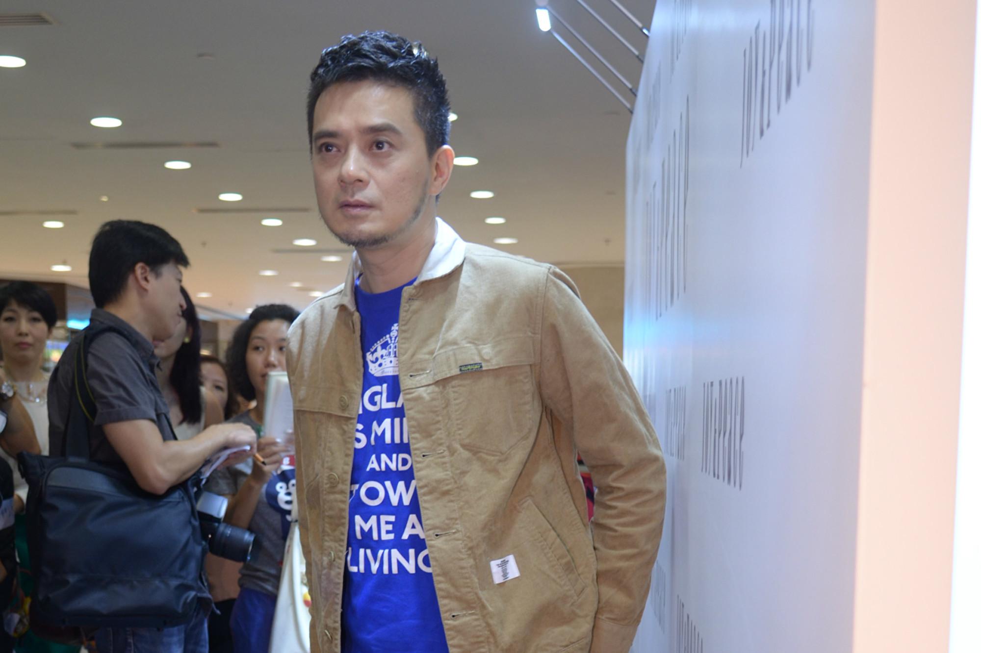 香港歌手黃耀明資料照。(張旭顏/大紀元)