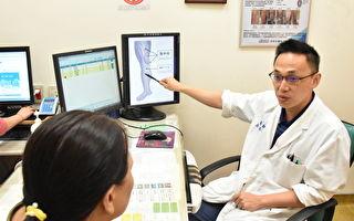 年轻入选田径国手  静脉曲张导致慢性膝部肿痛