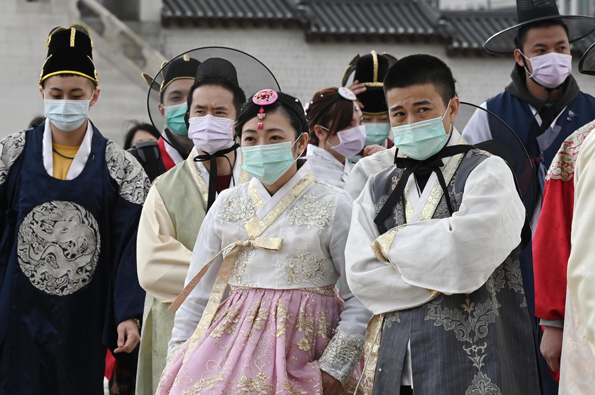 南韓中共肺炎新增760例 累計6,088例