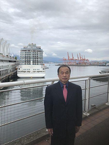 圖:大華旅遊公司總經理張維霖,就無怪乎旅遊業因為疫情受到重創,分析目前旅遊業的狀況與行情。(張維霖提供)