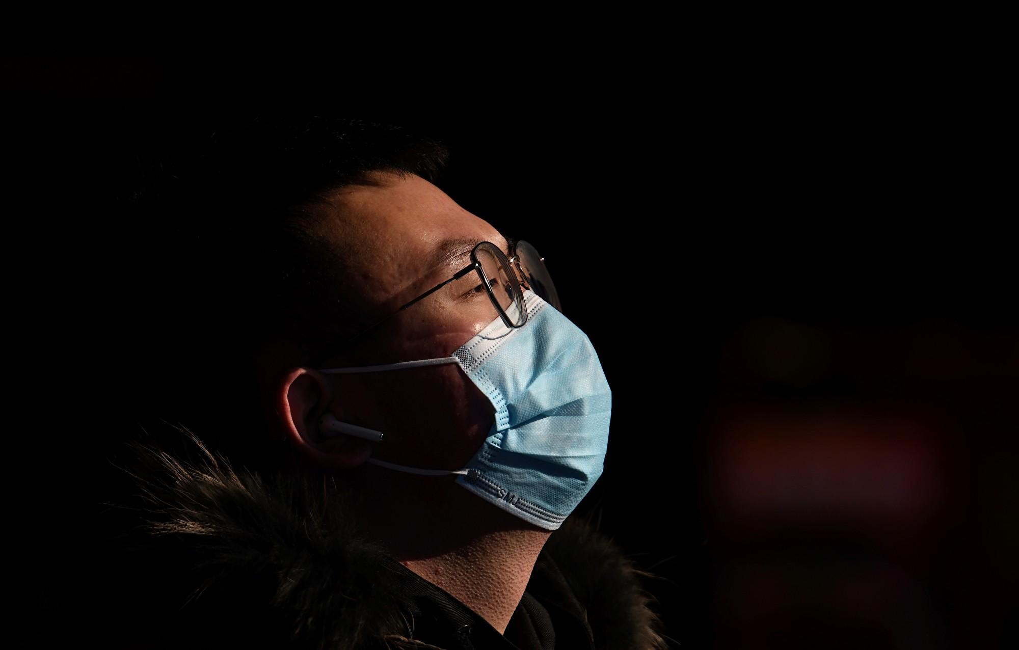 中共肺炎感染率及死亡率 研究:男性較高