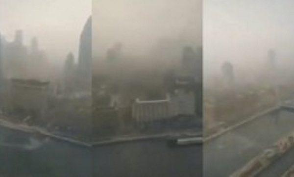 武漢籠罩陰霾 英媒曝焚燒感染者屍體所致