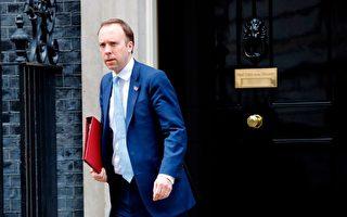 英國首相患中共肺炎後 衛生大臣也確診