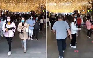 【现场视频】武汉楚河汉街已人来人往