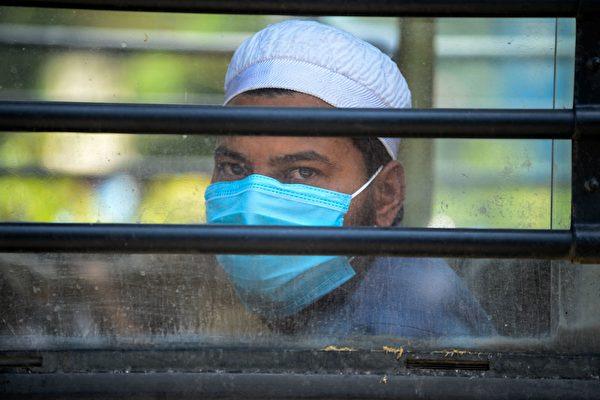 组图:中共肺炎肆虐 印度锁国对抗疫情