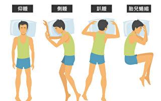 睡姿影响健康 仰睡和侧睡哪种适合你?