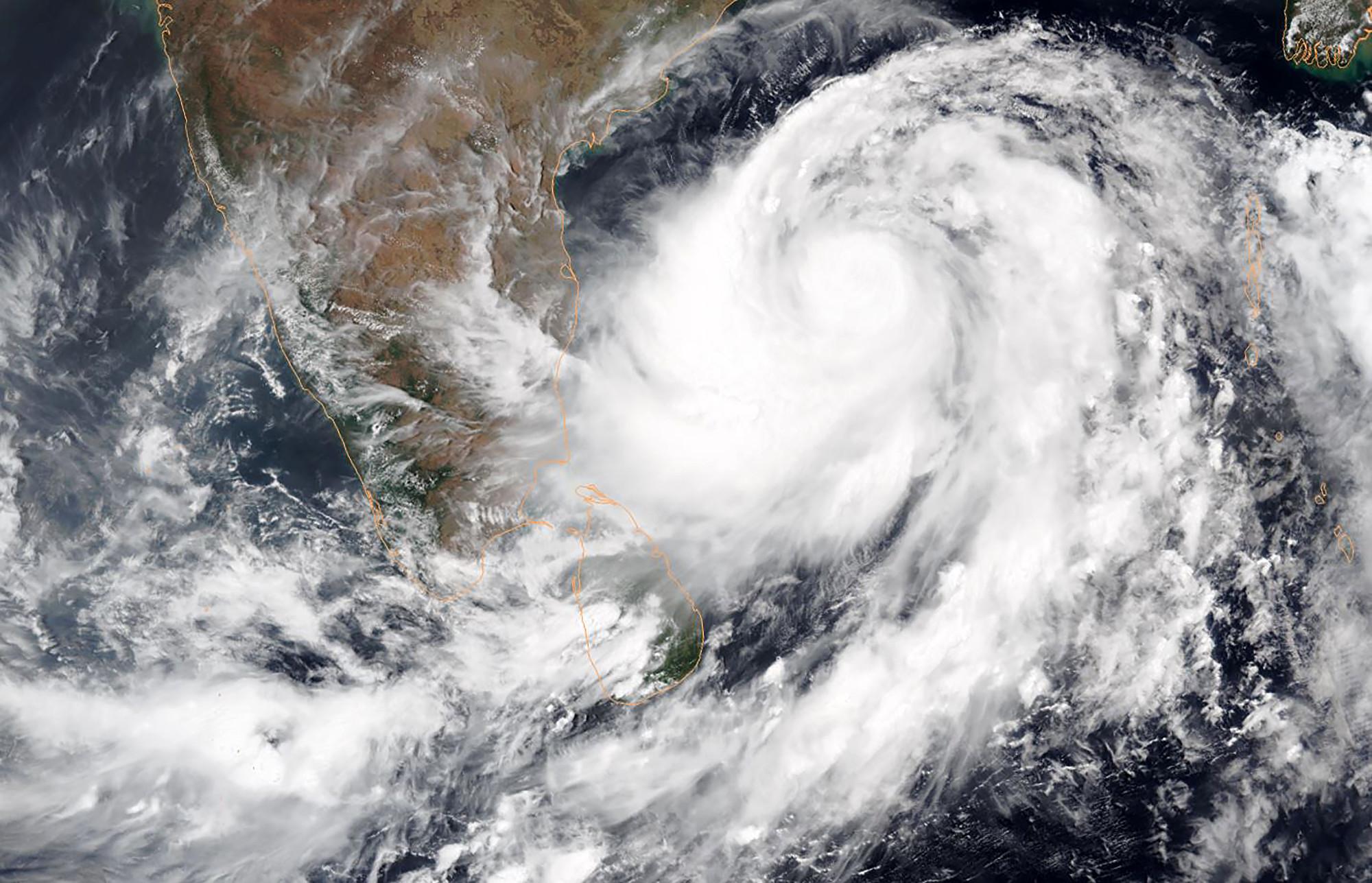 史上最強烈風暴襲孟加拉灣 數百萬人疏散