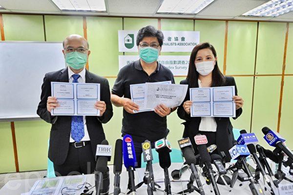 港警改媒体定义 记协及6所大学表示反对