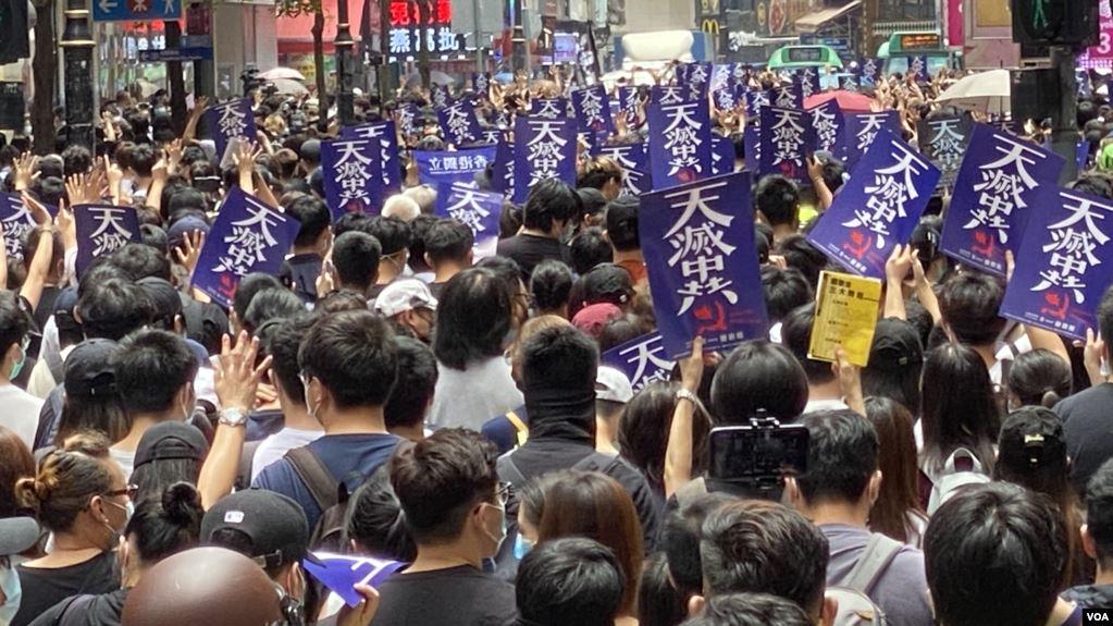 程曉容:香港人用腳投票否決中共