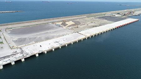 台中港106号离岸风电码头新建工程完工空拍照(2)
