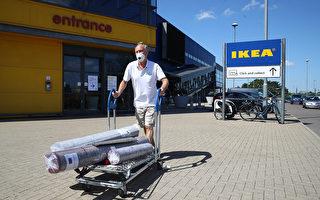 英国商业重启 商家采取措施让顾客放心购物
