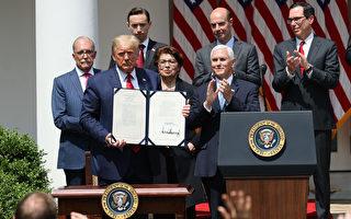 川普签署法案 助小企业灵活使用联邦贷款