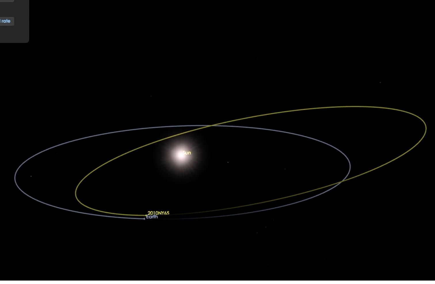 「潛在危險」小行星周三將掠過地球