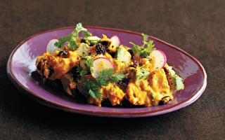 南瓜酪梨沙拉~口感绵密 微甜清爽 夏日轻食料理