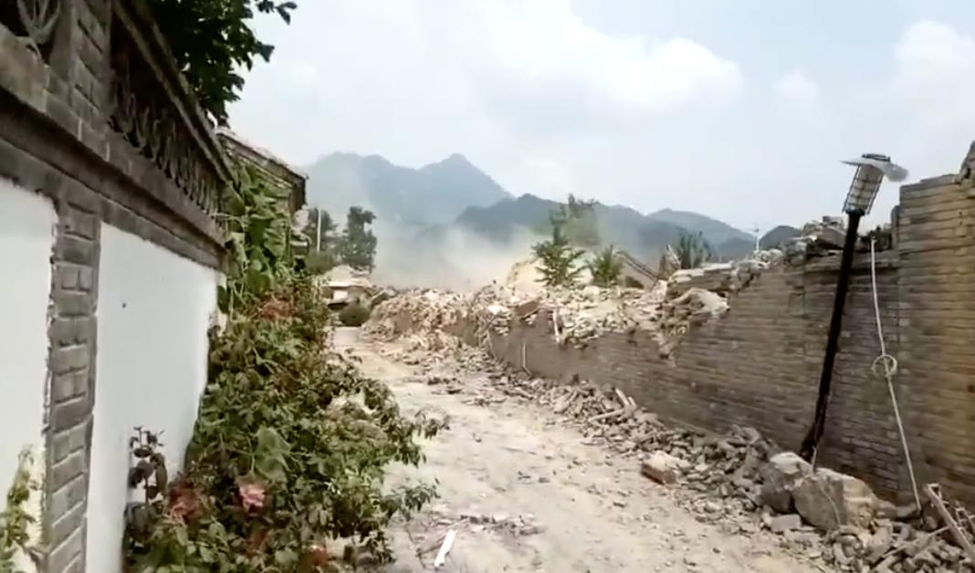 【一線採訪】北京上百小區遭大規模強拆