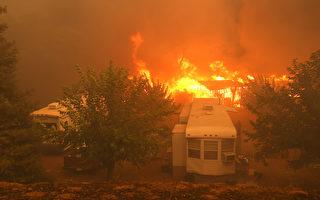舊金山灣區消防員人手缺乏   山火中居民拯救家園