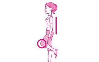 單腳站立又稱「動態火鶴療法」,是能鍛鍊骨骼、預防骨質疏鬆症的體操。(世茂出版提供)