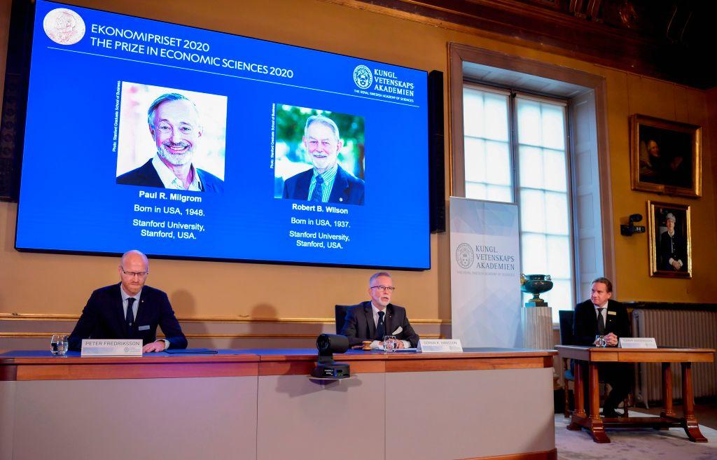 創新拍賣方式 美國兩學者獲諾貝爾經濟學獎