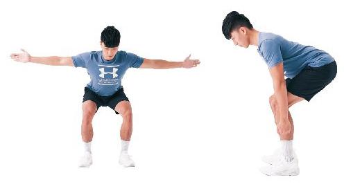 訓練姿勢的運動:平板姿。(日日幸福提供)
