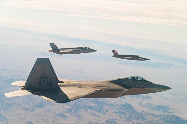 沈舟:美军无人机伴飞F-22、F-35