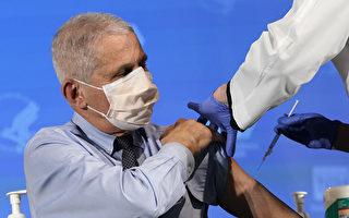 福西:群體免疫或需90%疫苗接種率