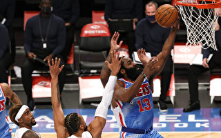 NBA哈登缴大三元 杜兰特创本季新高