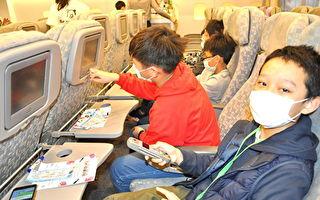 學童體驗醒吾機艙  一日機長豪語載蔡總統出訪