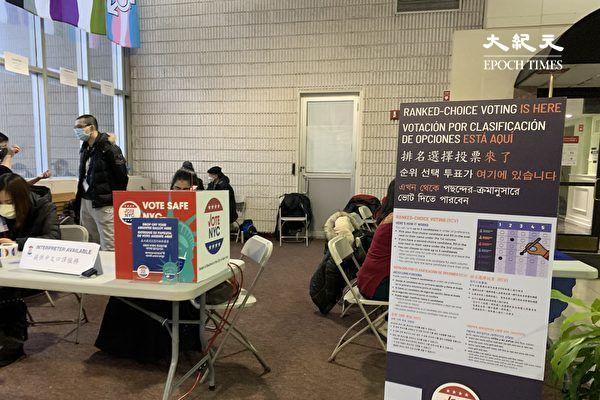 纽约市第24选区市议员补选  两千人提前投票