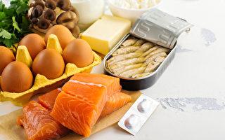 补充维生素D可增加身体第一线的免疫力。(Shutterstock)
