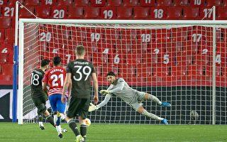 組圖:歐聯盃1/4決賽首回合 曼聯2:0勝格拉納達
