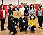 台湾商会助防疫 12度为社区捐口罩